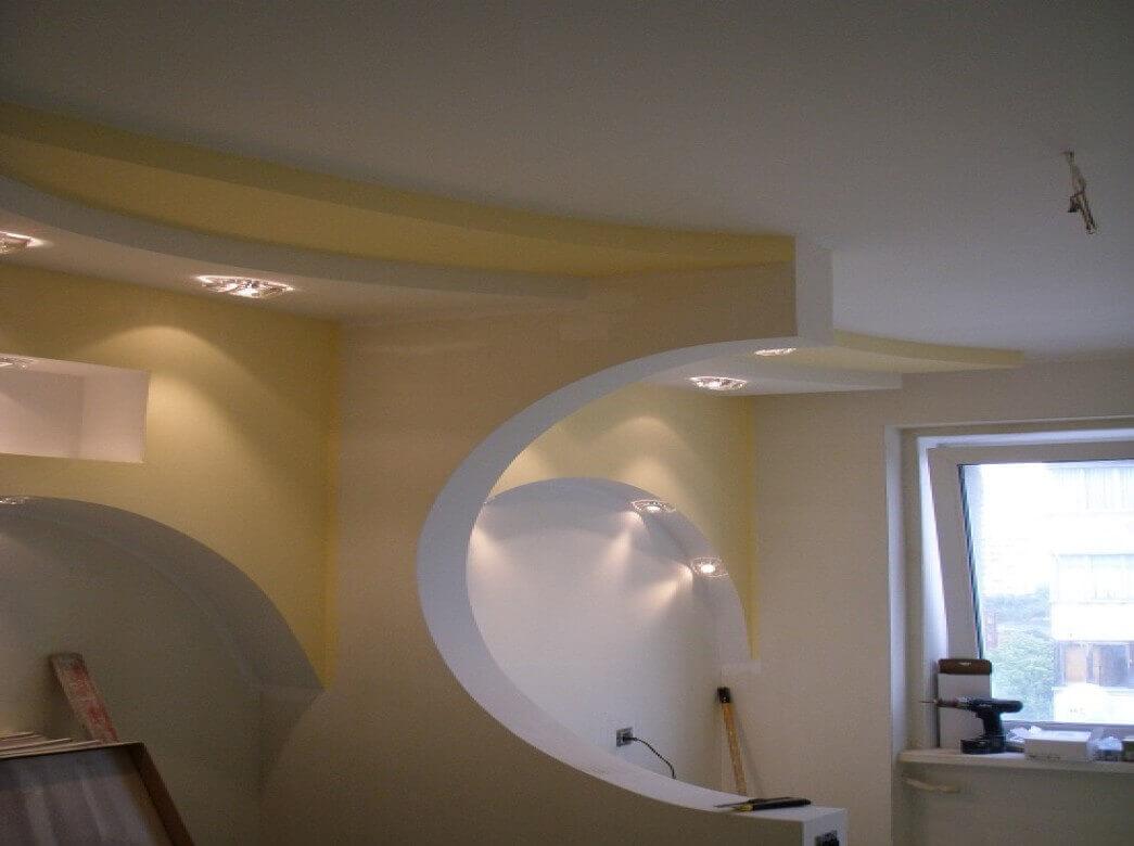 фото потолков и стен из гипсокартона существуют эффективные профилактические